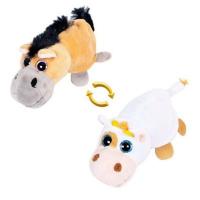 1toy Вывернушка 16 см Лошадка/Корова 16см М5010