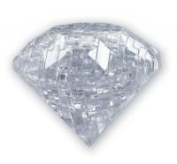 головоломка 3d пазл алмаз белый
