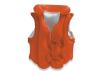 Жилет 58671 оранжевый 49*46см 3-6 лет INTEX