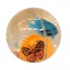 Мяч 054 Светится с водой и рыбкой 5,5 см.