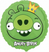 Шар 1202-1644 Angry Birds Король свиней18 дюйм