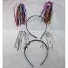 Ободок 141-678В хвостики фольга