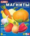 Фигурки на магнитах из гипса М-002 Овощи