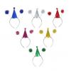 Ободок 'Колпачок с шариками', цвета МИКС