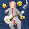 Набор элементов для детской фотосессии 'Рок-звезда'