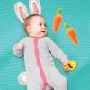 Набор элементов для детской фотосессии 'Зайка - попрыгайка'