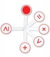 Веер Математические знаки