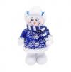 Снеговик 20 см, син. арт. 972419 Новогодняя сказка
