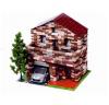 Архитектурное моделирование Дом с мансардой 805 дет.