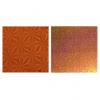Бумага голографическая 'Микс' цвет оранжевый 70*100 см