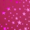 Бумага голографическая 'Звёзды' цвет розовый 70*100 см