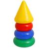 Пирамидка КРОШКА Я с конусом 3 кольца 1182510