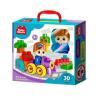 Конструктор Baby Blocks 'Веселый паровозик' 30 дет 31.5*28.9*8.5см 3+ 03908 Десятое королевс тво