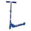 Самокат 2-х кол. 'Scooter' синий до 25 кг, свет. колеса PVC 100 мм, складной KS247 BLUE