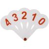 Веер цифры от 0 до 9 ArtSpace 10167