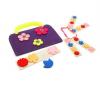 Smile Decor Сумка-игралка Цветы (фиолетовая) Ф252