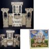 Конструктор деревянный 3D Средневековый замок