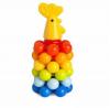 Пирамидка РОСИГРУШКА 9248 Петушок с шариками 20 см 8 дет