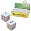 Ластик BRAUBERG 'Game' в форме игральной кости белая, пакет, 22360