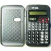 Калькулятор карманный 10-разрядный Kenko KK-105B инженерный 13,3*7,8*1,4см с крышкой, с часами