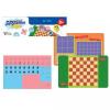 Игры магнитные дорожные 01943 (шахматы, шашки, кто первый, крестики-нолики) 240*180*40 мм