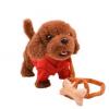 Игрушка на бат. 141-1340К Собака на поводке, ходит и лает