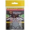 Световозвращающая термонаклейка Blicker 'Снежинка', серебристый