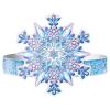 Ободок Времена года ЗИМА 'Снежинка' (картон)