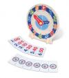 Woodland Развивающая игра с карточками 'Изучаем время' 76661