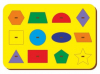 Woodland Рамка вкладыш Монтессори Геометрия 061203