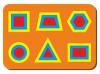 Woodland Рамка вкладыш Монтессори Паутинка 081101