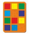 Woodland 'Сложи квадрат - 2' 12 квадратов 064402