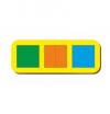 Woodland 'Сложи квадрат - 1' 3 квадрата 064101