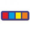 Woodland 'Сложи квадрат - 3' 4 квадрата 064506