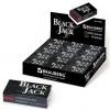 Ластик BRAUBERG 'BlackJack' в картонном держателе, 40х20х11 мм
