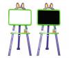 Доска для рисования DOLONI артикул 013777  салатово/фиолетовый