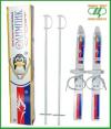 Лыжи детские Олимпик-спорт Длина лыж 66 см,палок 75 см