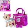 Chi-Chi love Собачка Чихуахуа Гламур с розовой сумочкой и бантом 20см 5892280