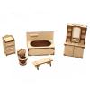 Набор мебели Волшебный 3D-город Ванная М-004