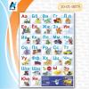 Плакат Алфавит для мальчиков формат А2