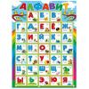 Плакат Алфавит Мир поздравлений А2