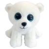 ABtoys Медвежонок полярный белый, 15см M0045