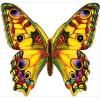 Украшение летнее Бабочка 146*146мм 150-3000594