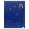 Дневник KWELT 'Кошки ' синий кожзам тиснение фольгой 1-11 кл.
