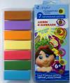 Глина полимерная 07цв 140г АРТЕФАКТ 'Натуральные цвета' карт упак 7507-18