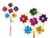 Ветерок STAR Team IT101012  2 цвета, диаметр лепестка 8 см, высота 50 см, палка 30 см