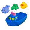 Игрушка для ванной Bondibon Корабль, дельфин, утенок, черепаха ВВ2755