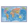 Карта Мира политическая М1:55млн 59*40 GLOBEN КН024
