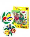 Насыпь-наклей ЭРА Цветы М1