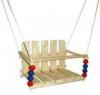 Качели деревянные детские МАРИЧ Бриз